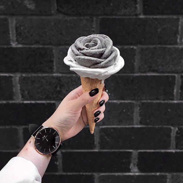 Ornate Floral Ice Creams