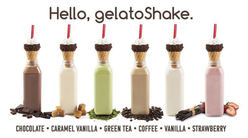 Natural Gelato Shakes