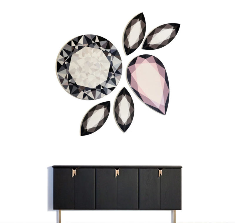 Crystal-Inspired Gem Mirrors