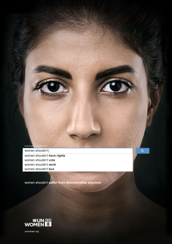 Disturbing Gender Inequality Ads