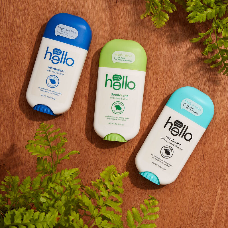 Sustainable Gender-Neutral Deodorants