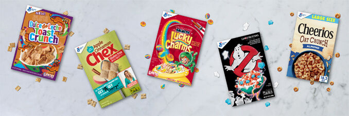 Limited-Edition Cereal Releases
