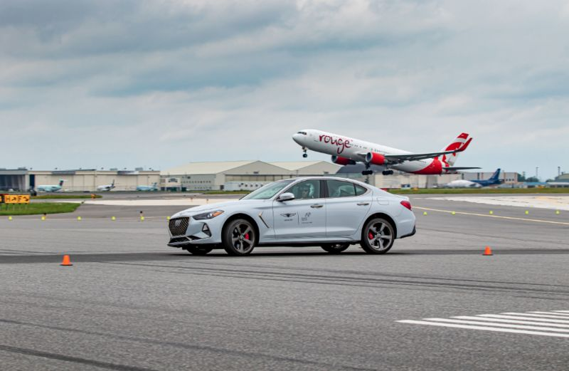 Airport Runway Test Drives
