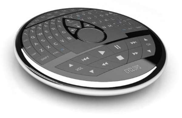 Saucer-Sized Universal Remotes