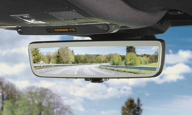 Intelligent Rearview Mirrors