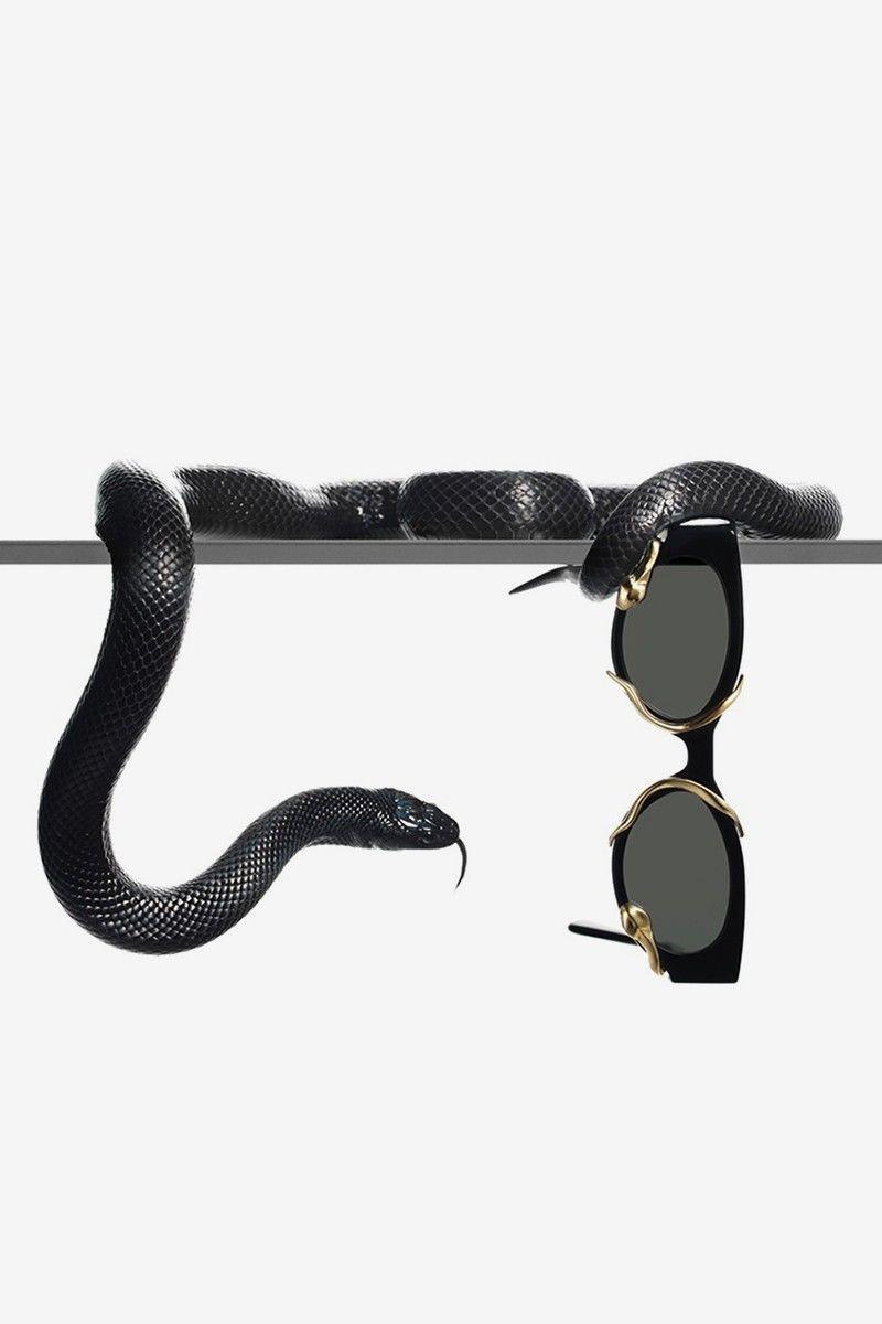 Snake-Wrapped Sunglasses