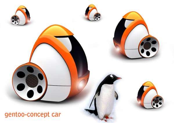 Penguin-Inspired Autos