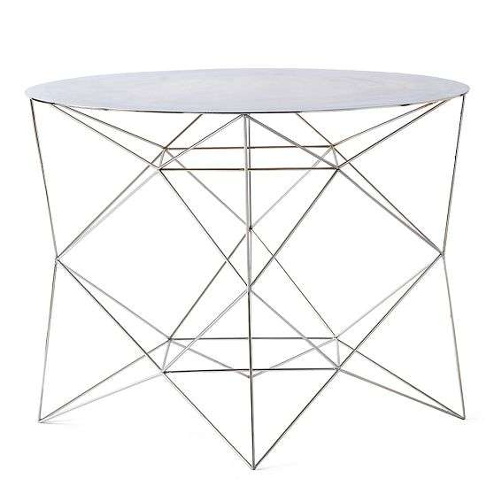 42% OFF - West Elm West Elm Origami Bone Coffee Table / Tables | 558x558