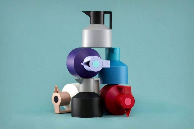Angular Minimalism Beverage Pots