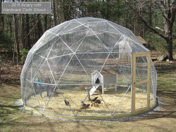 airy animal enclosures geodesic dome outdoor aviary. Black Bedroom Furniture Sets. Home Design Ideas