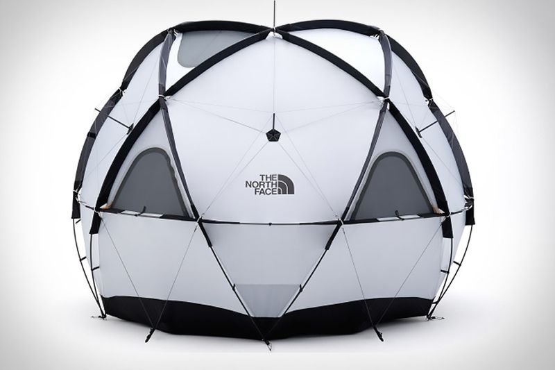 Spacious Spherical Tents
