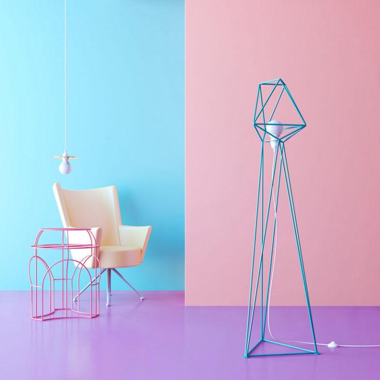 Geometric Floor Lamps Geometric Floor Lamp