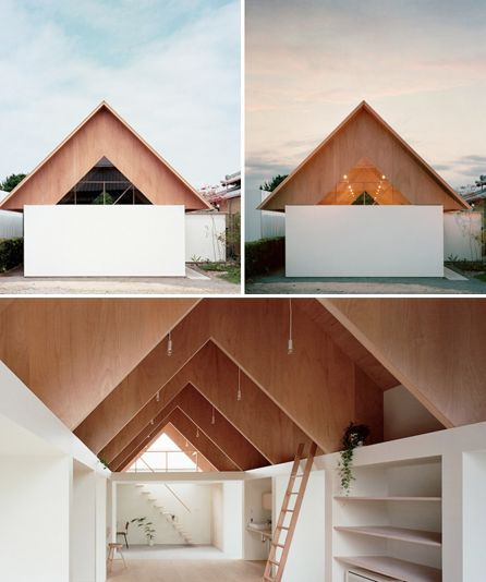 Minimalist Geometric Homes