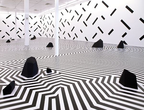 Hypnotic Geometric Installations