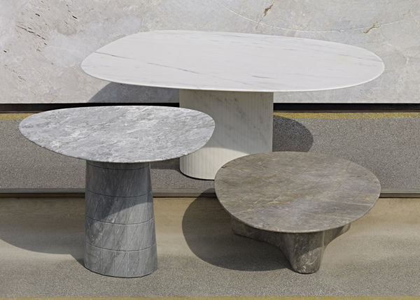 Geometric Marble Tables