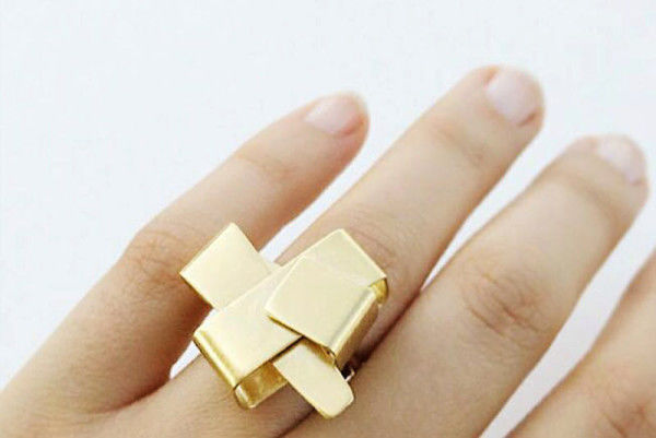 Folded Geometric Rings