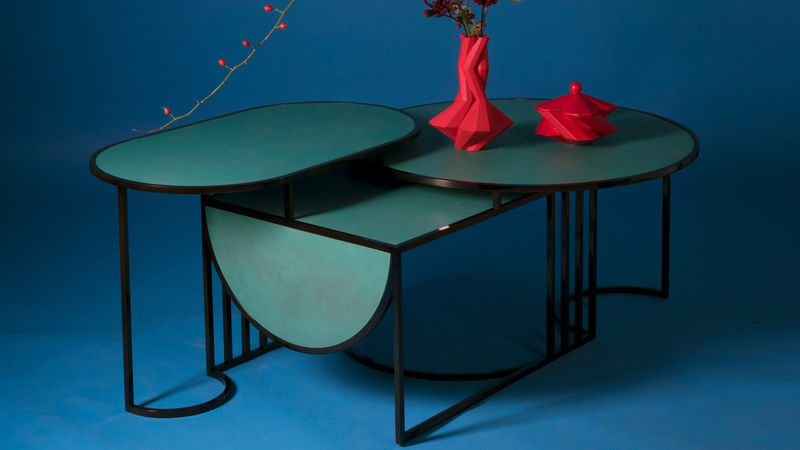 Bauhaus-Inspired Table Designs