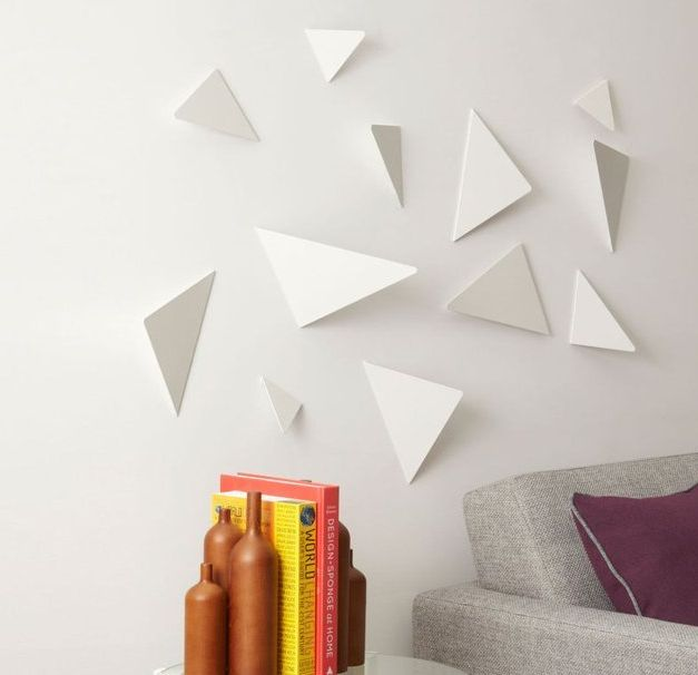 Geometric wall art geometric wall art Painting geometric patterns on walls
