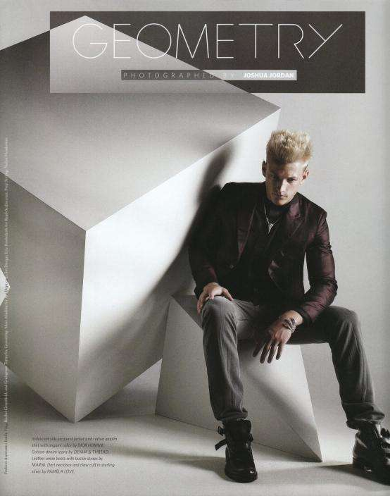 Geometric Fashion Editorials