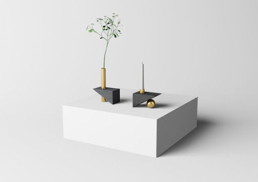 Geometry-Inspired Vases