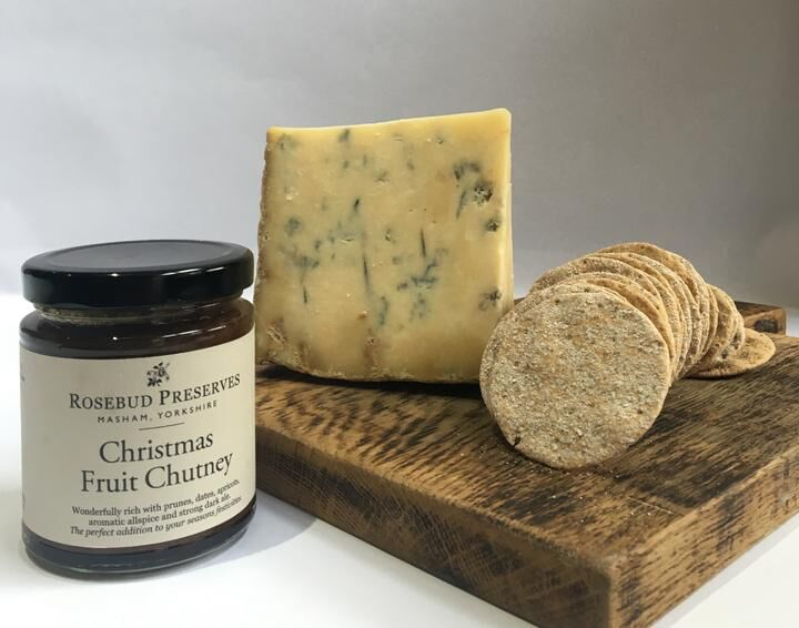 Festive Blue Cheese Hampers