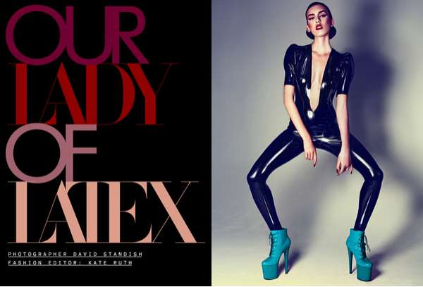 Lascivious Latex Fashion