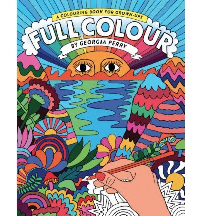 Psychedelic Coloring Books : georgia perry