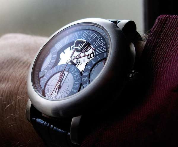 Intricate Retro Timepieces