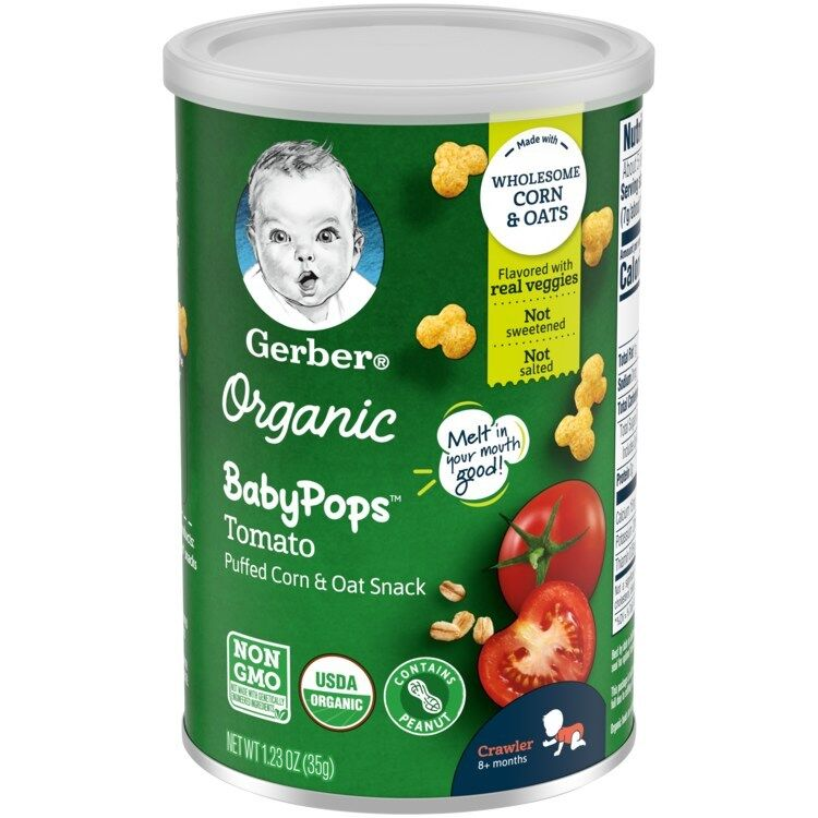 Popcorn-Like Toddler Snacks