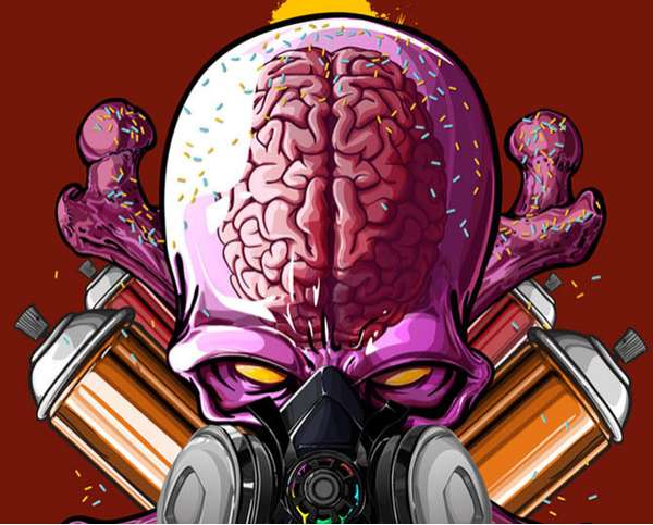 Clear Cranium Alien Art