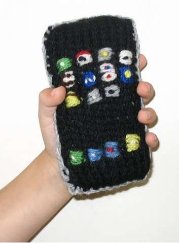Hand Knit iPhone