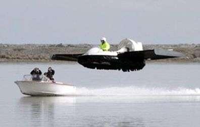 Flying Hovercrafts