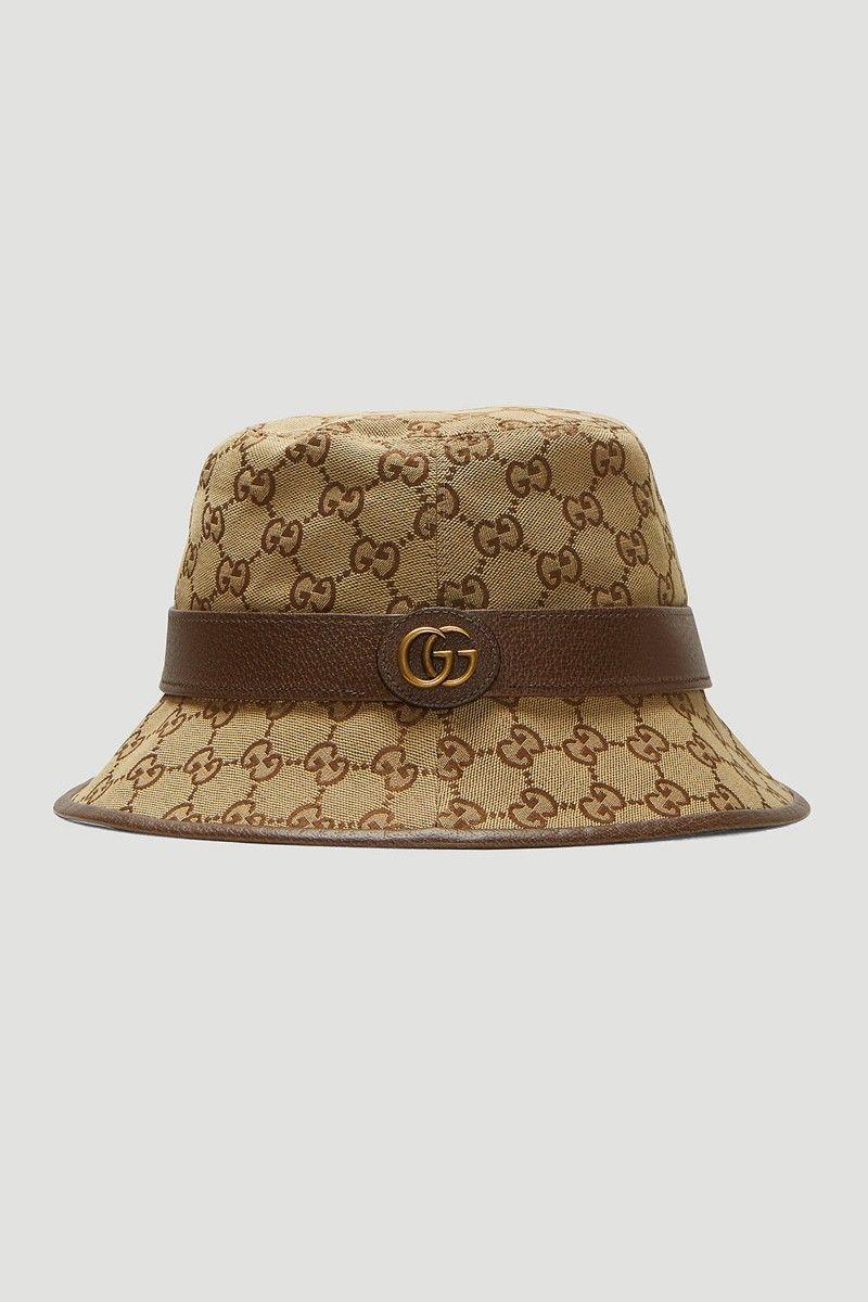Monogram Luxe Bucket Hats