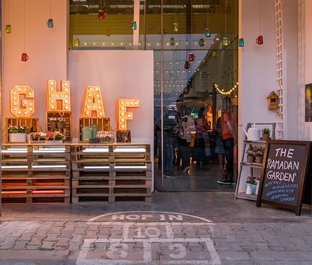 Pop-Up Ramadan Cafes