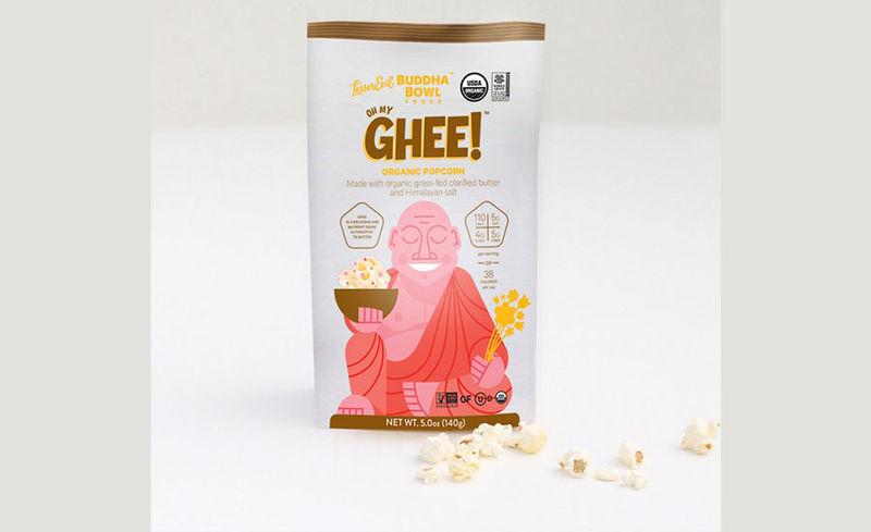 Organic Ghee Butter Popcorns