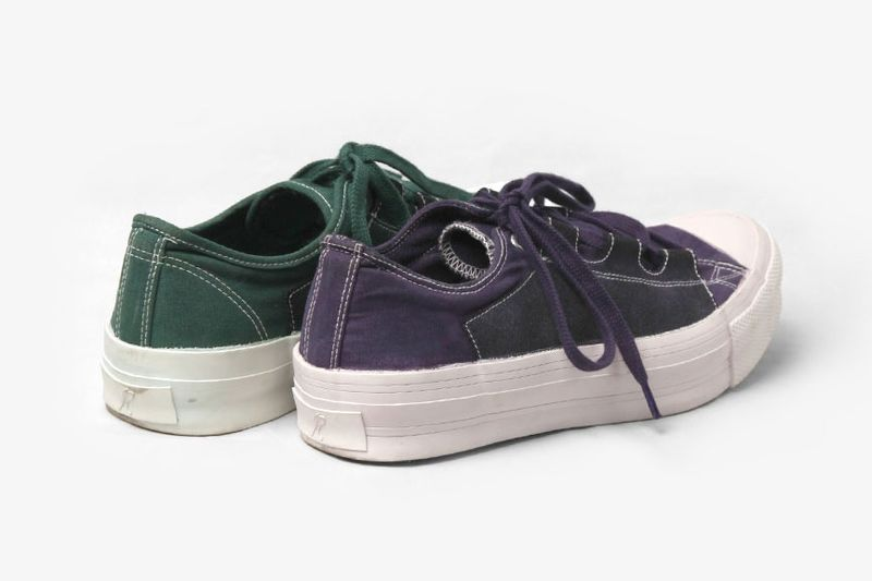 Sulphur-Dyed Mismatched Shoes