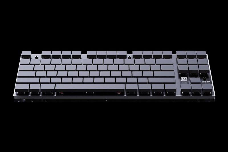 Ghostly Minimalist Keyboards