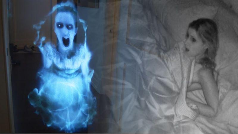 Ghoulish Hologram Pranks