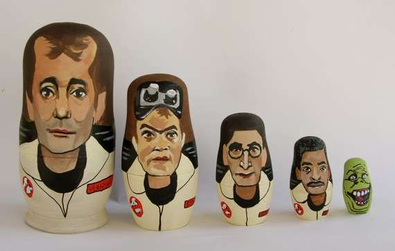 Sci-Fi Matryoshka Figurines