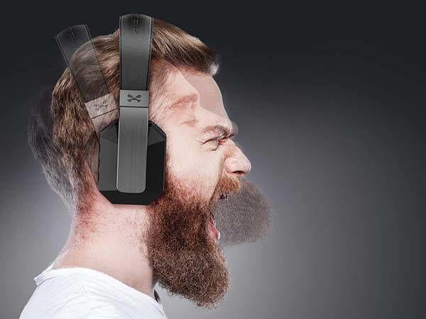 Bi-Directional Noise Reduction Headphones