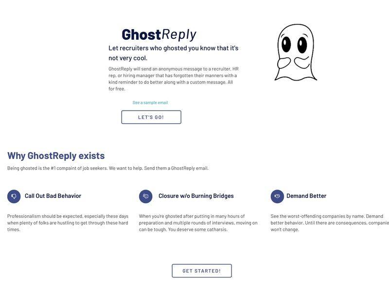 Anti-Ghosting Recruiter Email Tools