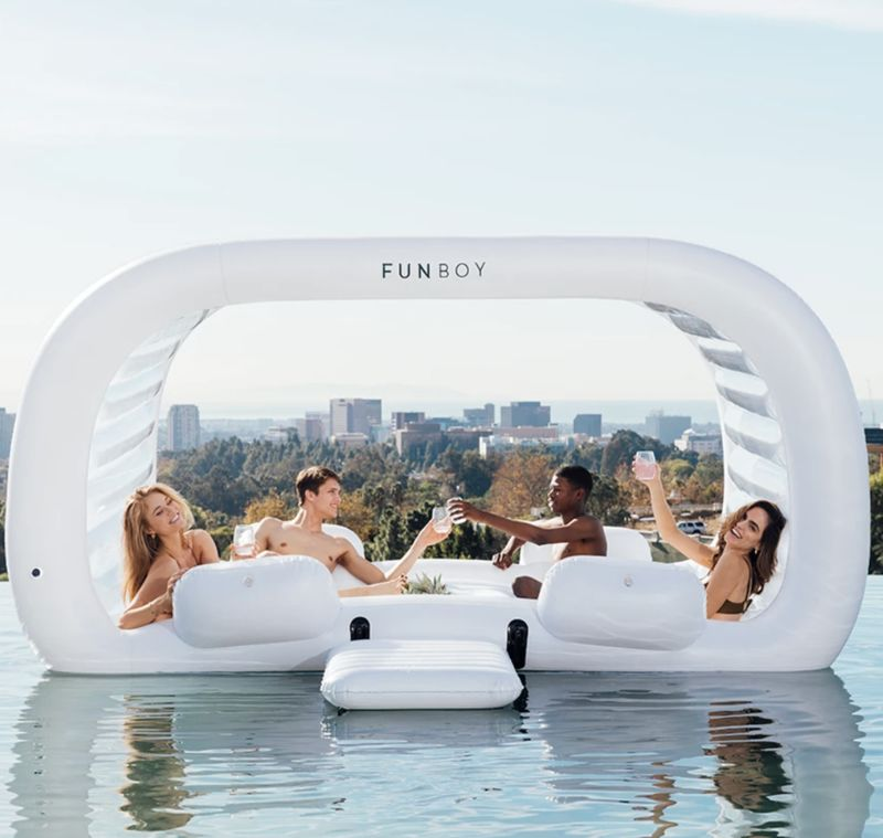 Inflatable Floating Cabanas