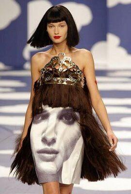 Giant Face Dresses