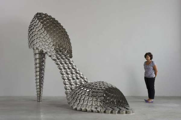 Cookware-Inspired Footwear Art