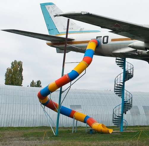 Airplane Playground Equipment