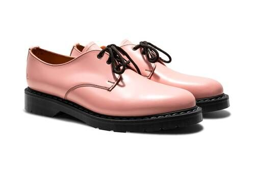 Salmon Tonal Spring Footwear