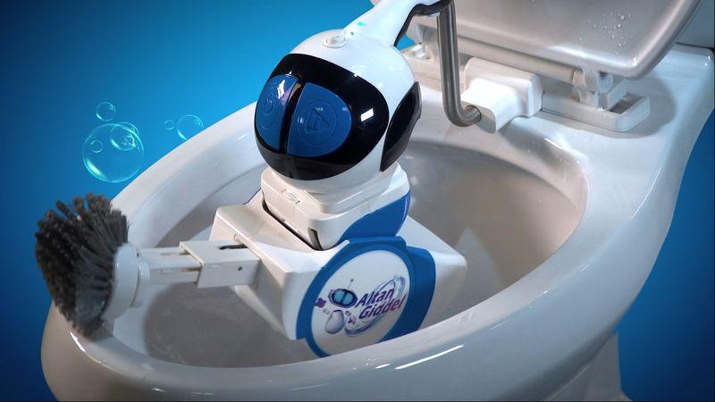 Toilet-Scrubbing Automatons