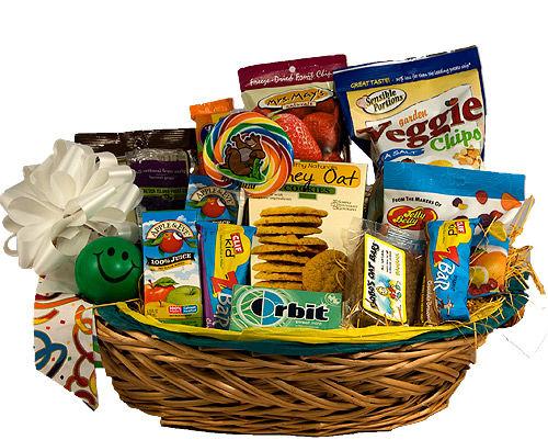 playful snack baskets    u0026quot gift basket for kids u0026quot