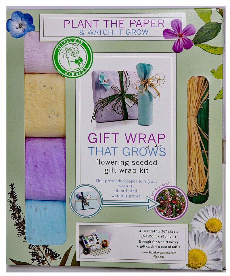 Flowering Gift Wrapping Papers