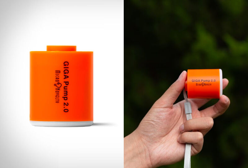 Palm-Sized Powered Air Pumps